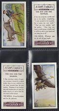 GALLAHER - AESOPS FABLES (SERIES OF 25) (NUMBERS 001-025) SELECT YOUR CARD