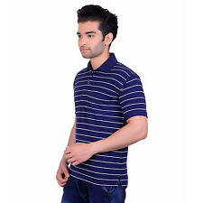 Nagesh Men's T-Shirt (Polo) Navy (S)