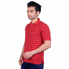 Nagesh Men's T-Shirt (Polo) Red (M)