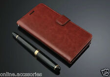 VINTAGE STYLISH LEATHER FLIP WALLET COVER BACK CASE FOR COOLPAD NOTE 3 LITE