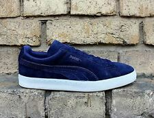 Scarpe Puma Suede Classic Colored 360850 01 Uomo Navy White Special Limited