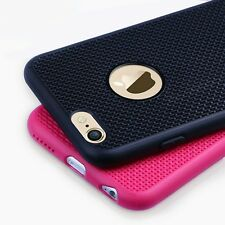Soft Silicone Grid Design Back Case Cover For iPhone 4 / 5 5s / 6 6s / 6 6s Plus