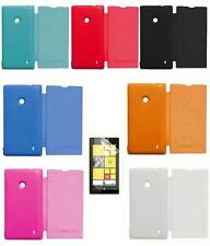 TBZ Flip Cover Case for Nokia Lumia 520/525 with Screen Guard opt
