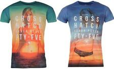 Cross Hatch Hatch Beach Girl T Shirt Mens Print Short Sleeves  ~All Sizes S - XL