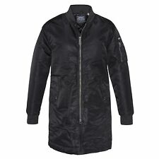 SCHOTT NYC-HOMME-BLOUSON LONG BOMBERS-BLH STAN-COLLECTION HIVER 2016-NOIR