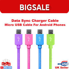 1M Micro USB Data Sync Charger Cable Lead for Android PhoneTablet Samsung LG HTC