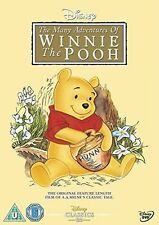 Winnie The Pooh - The Many Adventures Of Winnie The Pooh (DVD, 2002) Uk Region 2