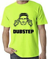 DUBSTEP HEARING PROTECTION T-SHIRT - Rave Dub Step Neon Drum n Bass - FREE P&P