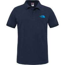 North Face Piquet Mens T-shirt Polo Shirt - Urban Navy All Sizes