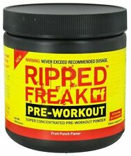 RIPPED FREAK Pharmafreak PRE-WORKOUT; Super-Concentrated 200g & 2-serving sample