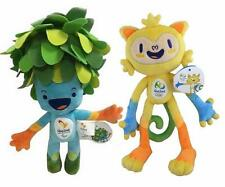 Hotsale Brazil Rio 2016 Olympic Games Souvenir Plush Toy Mascot Vinicius and Tom