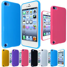 NEW GLOSSY SOLID SOFT CASE COVER FOR IPOD TOUCH 5G