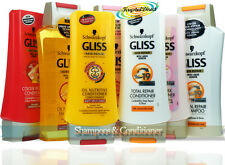Schwarzkopf Gliss Hair Repair Keratin Shampoo And Conditioner