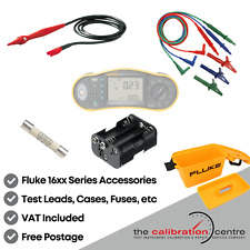 REPLACEMENT TEST LEADS & ACCESSORIES FOR FLUKE 1652B MULTIFUNCTION TESTER