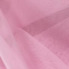 BRIAR PINK SUPER STIFF Dress Net TUTU Fabric Material Tulle Mesh 150cm wide