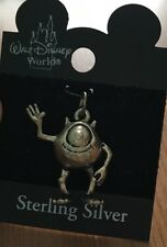 Disney Official Mike Wazowski Sterling Silver Charm Or Necklace New