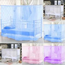 Hot Sale Student Dormitory Bed Encryption Dust Mosquito Net Four Corner Post Bed