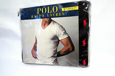 Polo Ralph Lauren Small Pony V Neck T-Shirts 3-pack Black