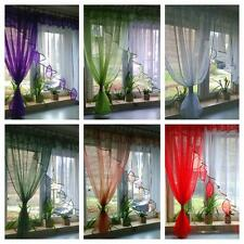 Ready made Net curtains - Angled Leaf / Voiles / Voile / Firany / Firanki / new