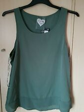 Ladies khaki top size 16 bnwt