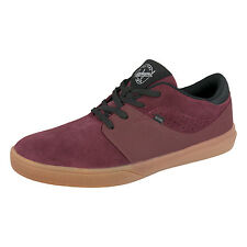 Globe Mahalo SG Skate Shoes - Burgundy / Gum