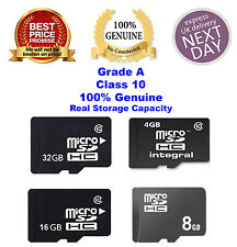 New 100% Genuine 4GB 8GB 16GB 32GB SDHC Class 10 Micro Memory SD Card