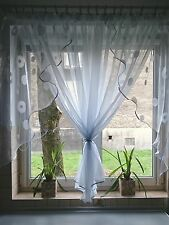 Ready made Net curtains - Three Piece / Voiles / Voile / Firany Firanki / new