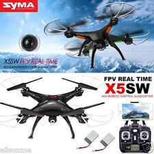 Syma X5SW X12S Explorers-II FPV 2.4Ghz RC Quadcopter 2MP Wifi Camera + 2 Battery