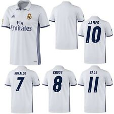 adidas Real Madrid Heimtrikot 2016 2017 weiß purple Ronaldo Bale Kroos James