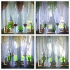 Ready made Net curtains - Two Flowers / Voiles / Voile / Firany / Firanki / new