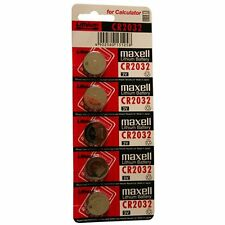 Maxell  CR2032  Batteries Lithium 3V Cell Coin Button Battery