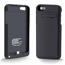 Selna Black Battery Charger Case Portable External Power Pack Back Up for iPhone
