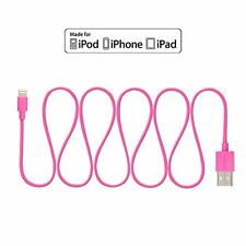 [Apple MFI Certified] Omars 4ft / 1.2m Lightning 8pin to USB SYNC Cable Charger