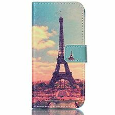 iPhone 6S Case,JanCalm [Kickstand] Pattern Premium PU Leather Wallet [Card Slots