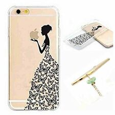 6s Case,iphone 6s Case -Luolnh Design Butterfly Girl Pattern Premium Ultra Slim