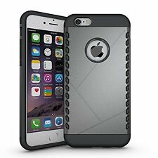 iPhone 6S Case, Pasonomi [Shield Armor] Hybrid High Impact Dual Layer Defender P