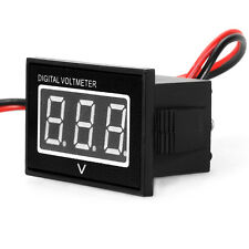 Waterproof Mini Voltmeter 3-30V Volt LED Display Digital Panel Meter Red/Blue