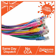15m Cable Ethernet Cat6 UTP RJ45 Red Lan Cable Parche 100% Cobre