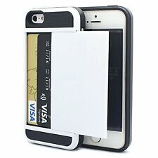 iPhone 5C Case, UUlike Impact Resistant Protective Shell iPhone 5C Wallet Cover