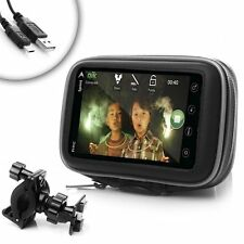 Phone Handlebar Bike Mount with Water-Resistant Design for Apple iPhone / HTC /