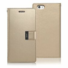 iPhone 5S / 5 Case, [Drop Protection] Goospery Rich Diary [Apple iPhone 5S / 5]
