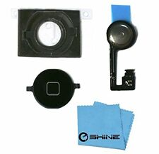 EShine iPhone 4S Home Button Flex Ribbon Cable + Rubber Gasket (Holder) for iPho