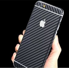 Supstar Luxury Carbon Fibre Full Body Skin Sticker Wrap Covered Edges Vinyl Deca