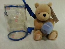 CLASSIC POOH-Winnie The Pooh With Carry Bag Disney by Gund 8