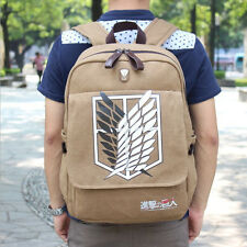 Anime attack on titan/Shingeki no Kyojin zaino zainetto borsa per i libri borse