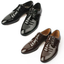 Mooda Mens Leather Oxfords Shoes Classic Formal Lace up Dress Shoes Frain UK