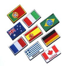 Nazione Flag Nation Flag Emblem Patch Embroidered Applique National Country HOT