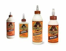 Gorilla Wood Glue Strong Hold Water Resistant Easy to Use Wood Glue Adhesive