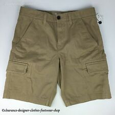 TIMBERLAND SHORTS MENS WEBSTER LAKE TWILL CARGO CLASSIC FIT BEIGE SHORTS RRP £70