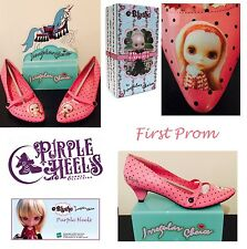 Irregular Choice Hasbro First Prom Pink Blythe Doll Vintage Heel UK6.5/40